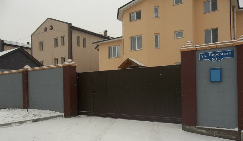 Распашные автоматические ворота в Красноярске, Красноярском Краю