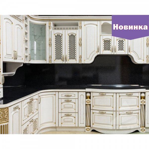 Угловой фасад кухни в Санкт-Петербурге, Ленинградской области