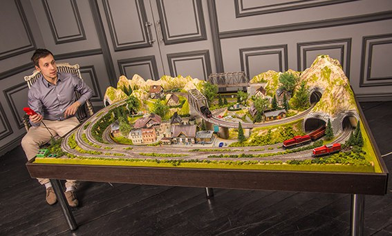Масштабные модели железных дорог в Казане