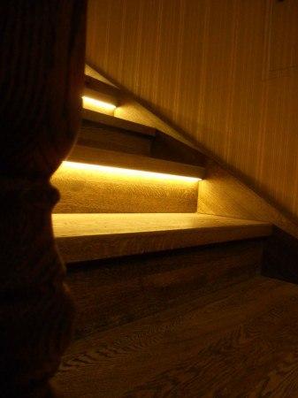 Деревянные лестницы в частном доме в Уфе