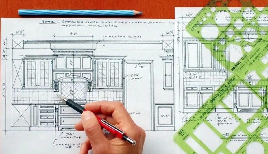 Дизайн интерьера современной кухни в Краснодаре, Краснодарском крае