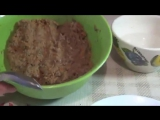 Как приготовить очень вкусные котлетки из гречки с грибами(Постное блюдо)