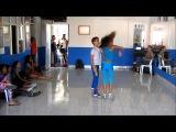 Salsa Cali, Colombia - Training at Son de Luz  dance school, escuela de salsa Cali