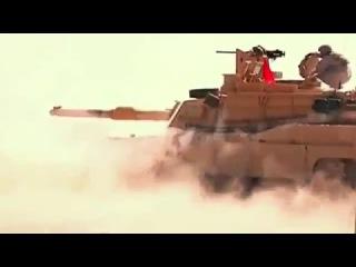 Боевые стрельбы танка M1A2 «Абрамс» . Live firing of the tank M1A2