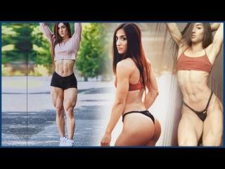 22-летняя Бахар Набиева —фитнес-модель из Днепропетровской области