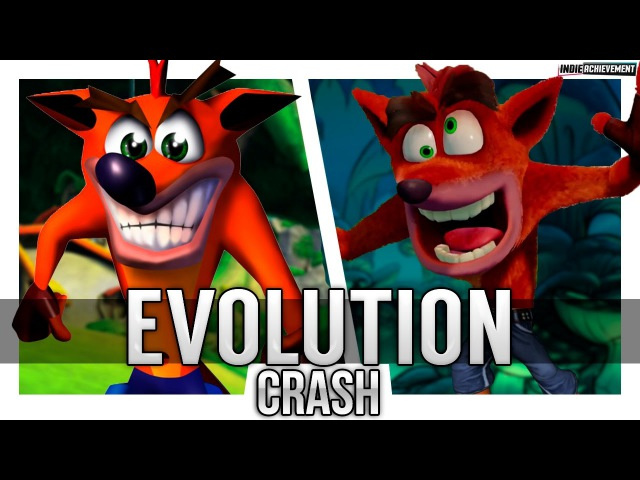 Evolution of Crash Bandicoot Games