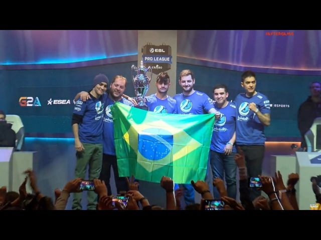 ESL Pro League S3 2016. Luminosity Gaming are the champions! (3:2 vs. G2 by maps) CyberWins