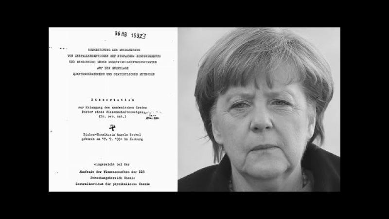 Dreistes Plagiat Merkels Doktorarbeit ist gar keine – wissenschaftliche Analyse liefert Beweise