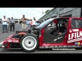 ALFA ROMEO 155 V6 TI DTMITC Startingwarming up ex Fisichella