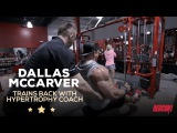 Redcon1 Dallas Mccarver Trains Back With Hypertrophy Coach 6 Weeks Out of the 2016 Mr. Olympia