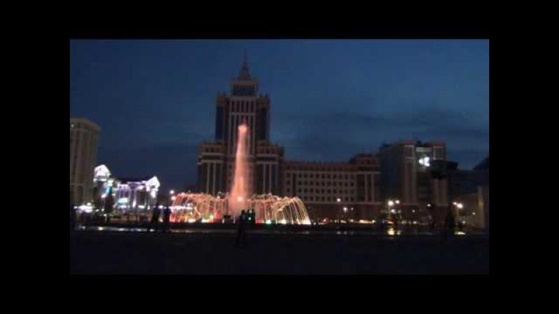 Фонтан «Звезда Тысячелетия» Площадь Тысячелетия Саранск 16 июля 2016