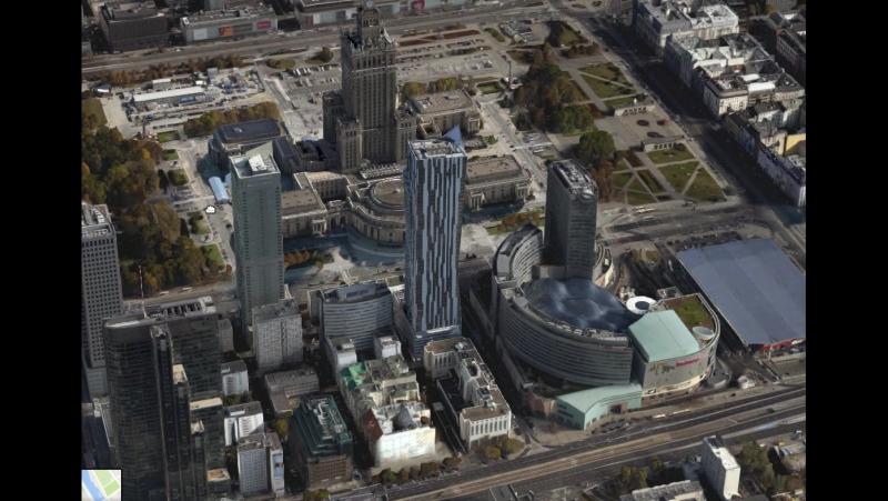 Варашва 3D на Google Maps