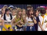 160508 Twice занимают первое место на Inkigayo и получают свою третью награду.