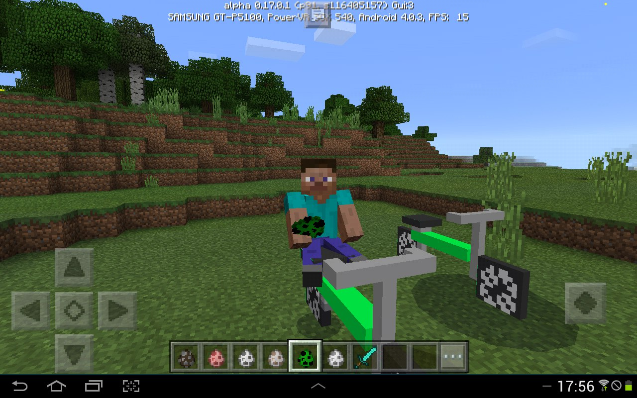 Мод - Vehicles Mod для MCPE 0.17.X от создателя Spectro Anime