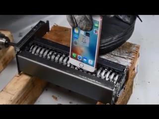 Экспериментатор. iPhone 6S против Шредера для бумаги