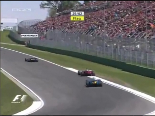 F1 2004. Гран-при Сан-Марино. Гонка