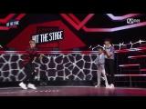 160824 Ten (NCT U) vs Rocky (Astro) @ Hit The Stage Ep.05