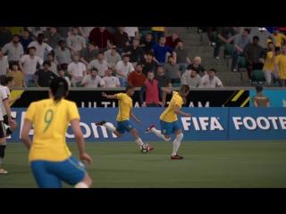 FIFA 17 | 2 ЛОНГШОТА ОТ БРАЗИЛЬЯНОК