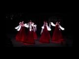 Русский народный танец девушек в светящихся платьях! Невероятно красиво!!!