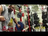 Фил Хит: Тренировка ног за 11 недель до МО 2015 (RUS Sportfaza)