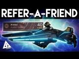 Destiny Refer A Friend Items, Update 2.0.2 & Iron Banner