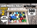 Thrilling Sand Marble Race with commentary! better than Formula 1