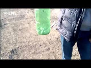 Как сделать бомбу с крота и фольги?! Исытание в конце видео!