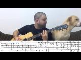 Fingerstyle Tutorial California Dreamin' - w TAB (Guitar Lesson)