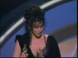 Cher Wins Oscar For Best Actress 'Moonstruck'/ Paul Newman Presents, 1988