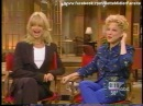 Bette Midler and Goldie Hawn Good Morning America Interview 1996