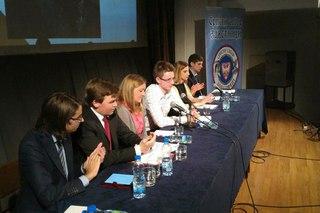 Наши студенты в Сербии