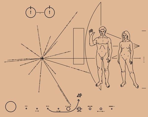 3 марта далекого уже 1972 года NASA запустило в космос беспилотный аппарат «Пионер-10», вложив в него послание внеземным цивилизациям...