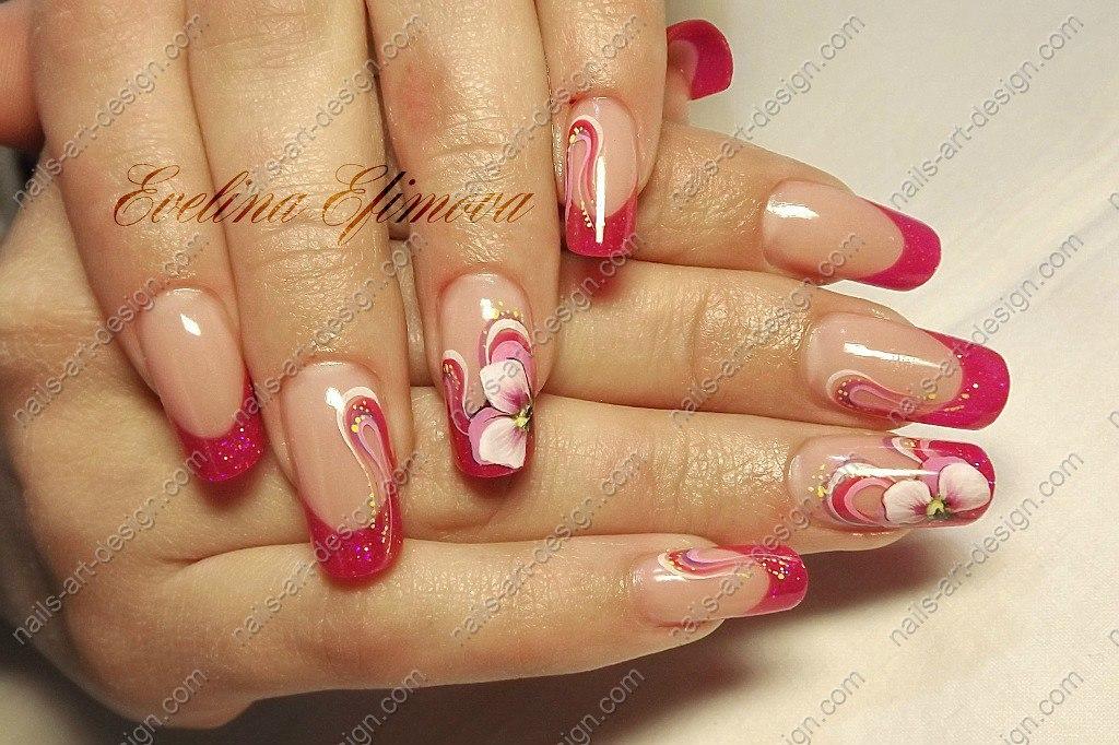 Дизайн ногтей роспись фото