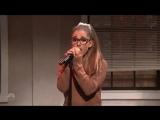 с переводом на русский .Ариана Гранде \Ariana Grande пародирует голоса известных певиц- Britney Spears,Rihanna,Whitney Houston
