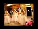 ЗАЖИГАТЕЛЬНЫЙ ТАНЕЦ ЧЕТЫРЕХ НЕВЕСТ! Свадебное видео.