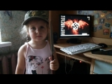 Украинского ребёнка учат резать русских