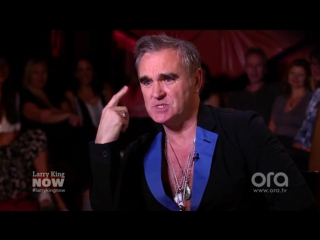 Morrissey Takes On GOP, Trump, Obama & Law Enforcement (Larry King Now)