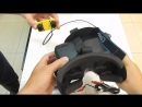Testing 3D FPV camera BlackBird 2 and Samsung Galaxy S4 mini