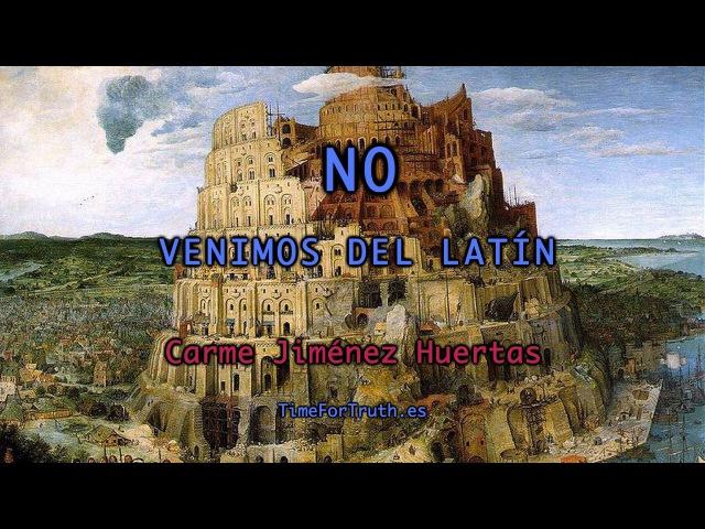 NO VENIMOS DEL LATIN - Entrevista Carme Jiménez Huertas