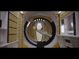 2001 A Space Odyssey - The lady who walks on the ceiling
