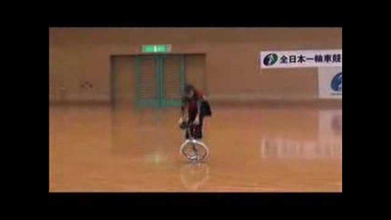Monocycle freestyle