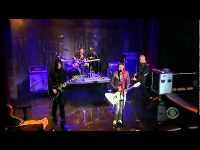 30 Seconds To Mars Attack live on David Letterman (August 31st, 2005)