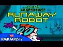 Лаборатория Декстера игра для детей | Dexters laboratory Runaway Robot