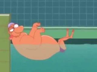 Мульты для взрослых Спорт Плавание Cartoons for adults Sport Swimming