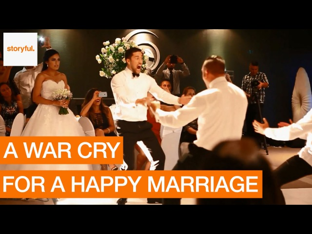 Newlyweds Treated to Unforgettable Wedding Haka (Storyful, Inspiring)