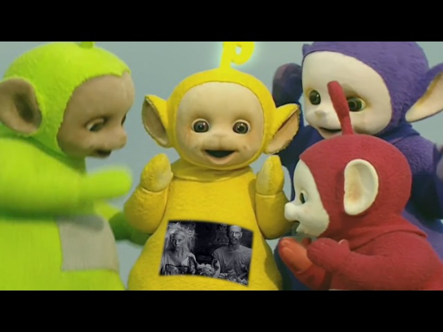 The Teletubbies perform I Fink U Freeky by Die Antwoord