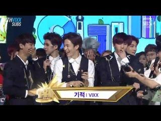 [WITHVIXX SUBS] 140608 VIXX 1st win speech for 기적(Eternity) @ Inkigayo