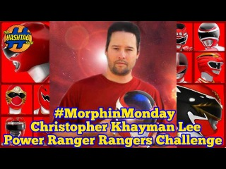 Christopher Khayman Lee Ranger Challenge: Round 3 | Power Rangers in Space | Morphin' Monday