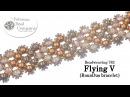 Make a Flying V RounDuo® bracelet