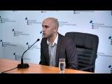 Пресс-конференция британского журналиста о презентации нового фильма о Донбассе
